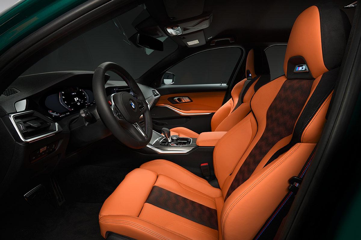 Intérieur BMW M3 2020