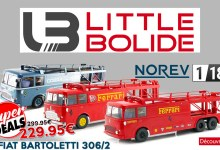 Photo de 1/18 : Les Fiat Bartoletti de Norev remisés