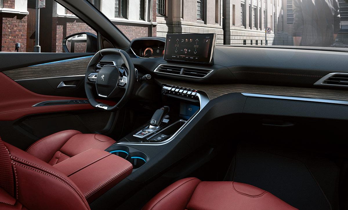 Intérieur cuir Peugeot 3008 restylé