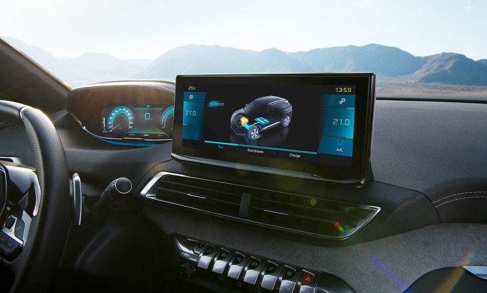 Peugeot 3008 restylé écran tactile