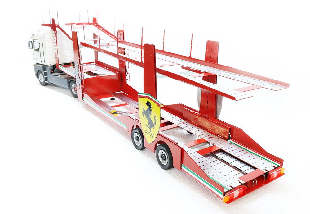 MN Trailer semi-remorque Ferrari 1/18