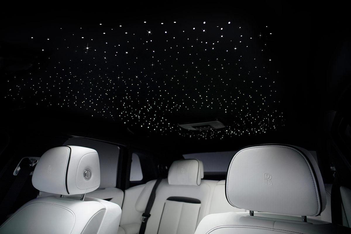 Plafond étoiles Rolls Royce Ghost 2020
