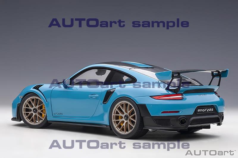 1/18 Porsche 911 GT2 RS AUTOart arrière