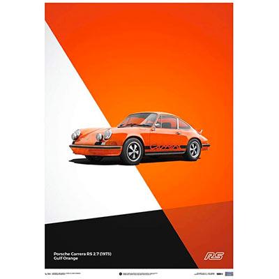 Affiche Porsche cadeau