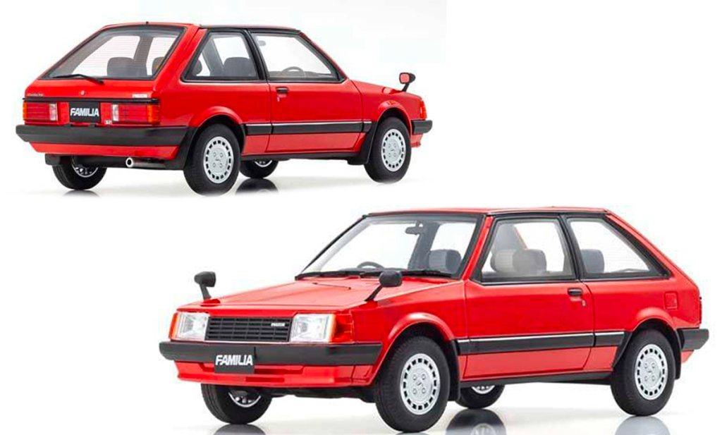 1/18 Mazda Familia Kyosho