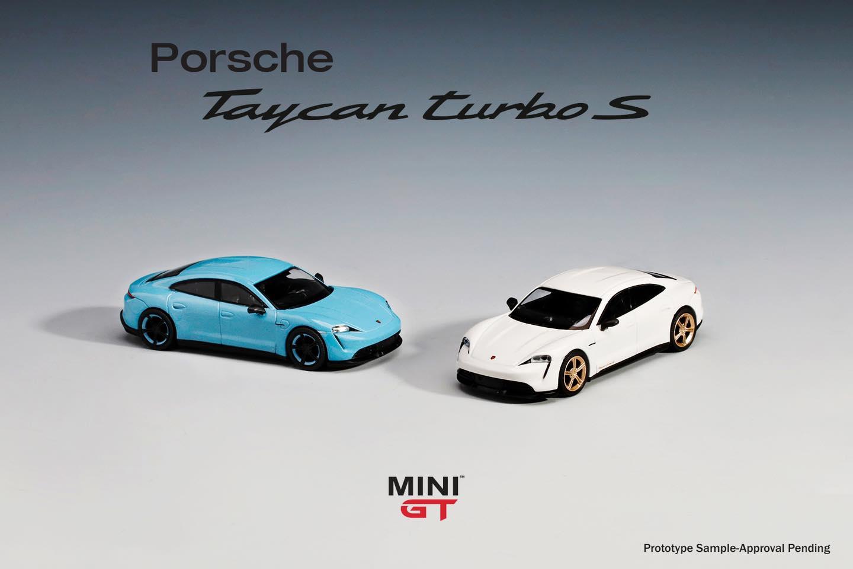 1/64 Porsche Taycan Mini GT