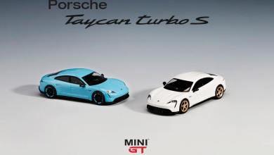 Photo de 1/64 : Mini GT va proposer la Porsche Taycan