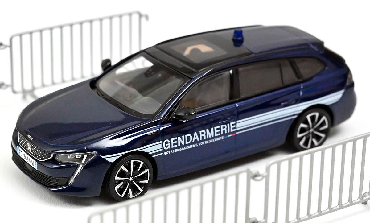 1/43 Peugeot 508 SW GT Gendarmerie Norev 475830