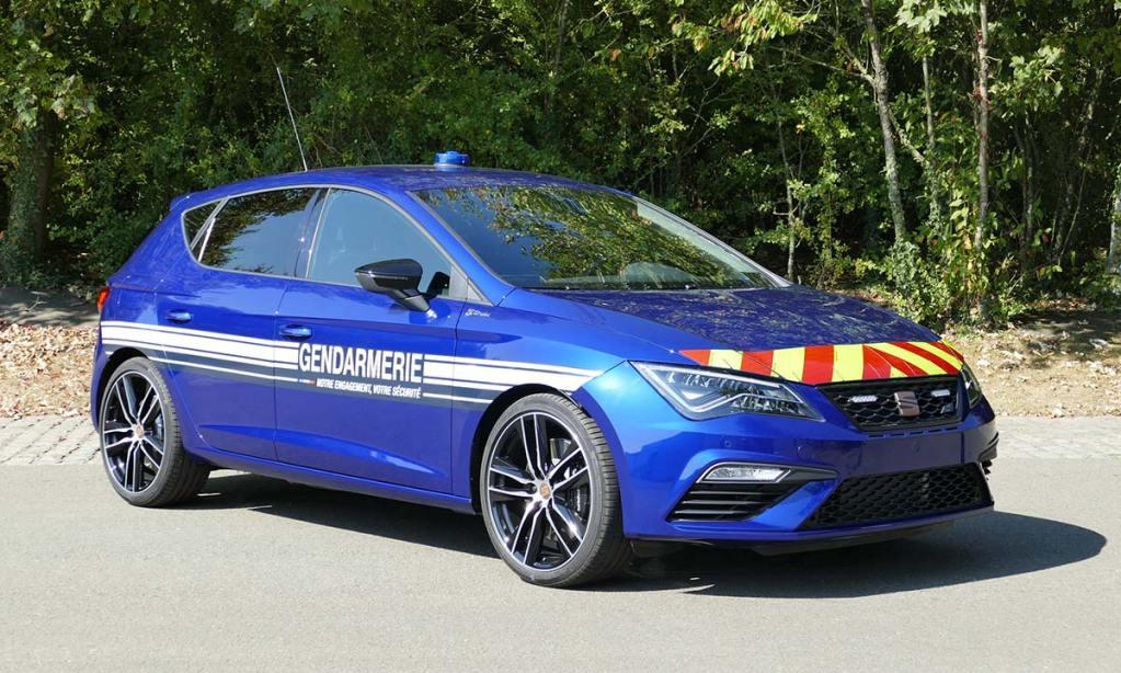 Seat Leon Cupra gendarmerie