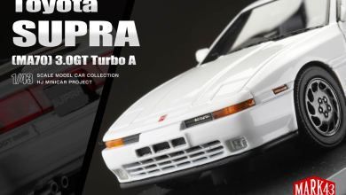Photo de 1/43 : La Toyota Supra 3.0 GT débarque chez Mark43