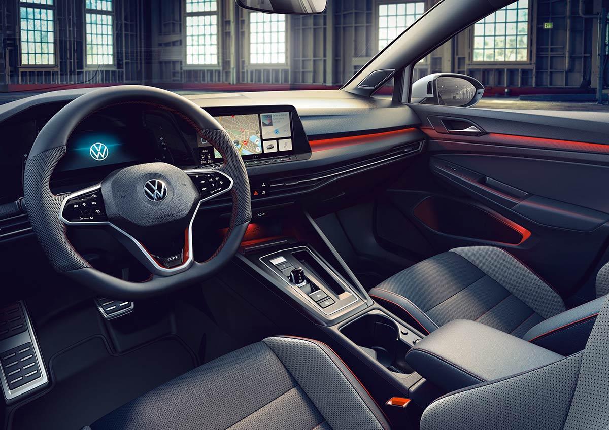 Intérieur Volkswagen Golf 8 GTI Clubsport