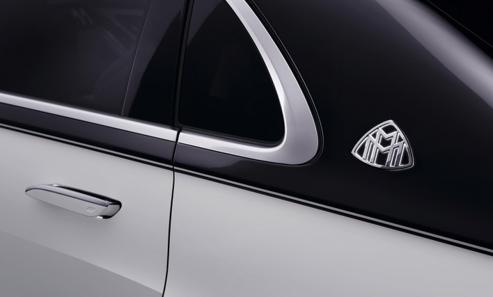 Logo Mercedes Maybach Classe S