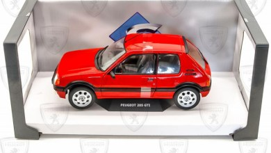 1/18 Peugeot 205 GTI Solido