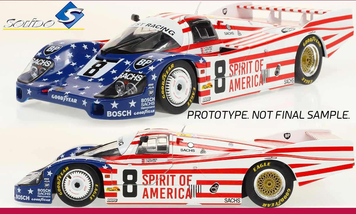 1/18 Porsche 956 Solido