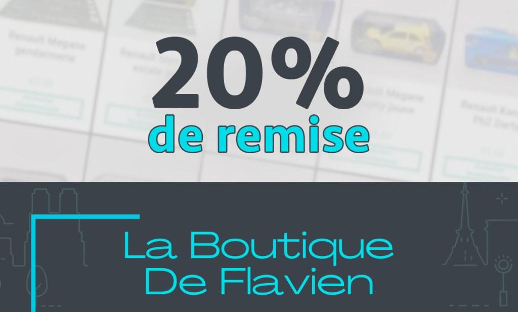 Code promo La Boutique de Flavien