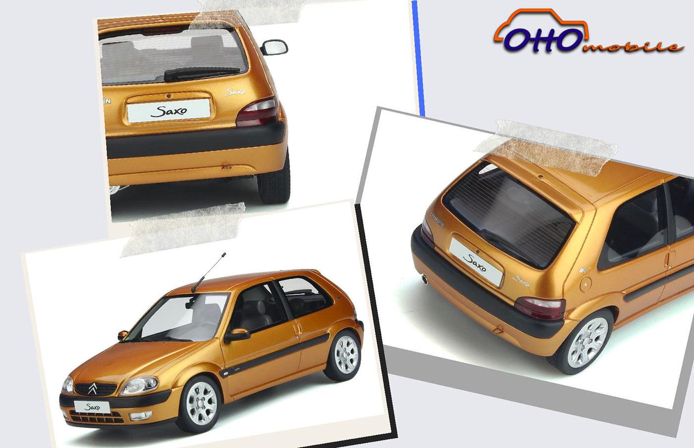 1/18 Citroën Saxo VTS jaune Heriodor