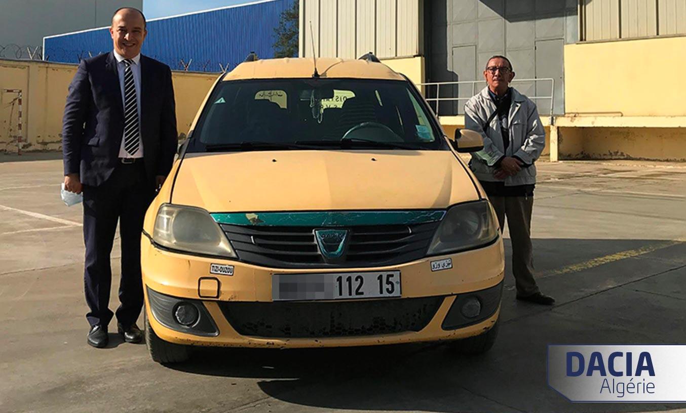 Dacia Logan MCV million kilometres