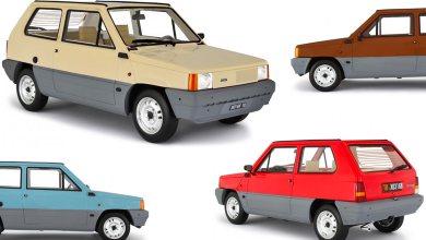 Fiat Panda 1 Laudoracing 1/18
