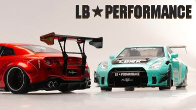 1/18 Nissan GTR R35 Liberty Walk Solido