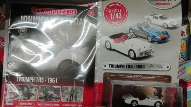 1/43 Les voitures de Johnny Hallyday