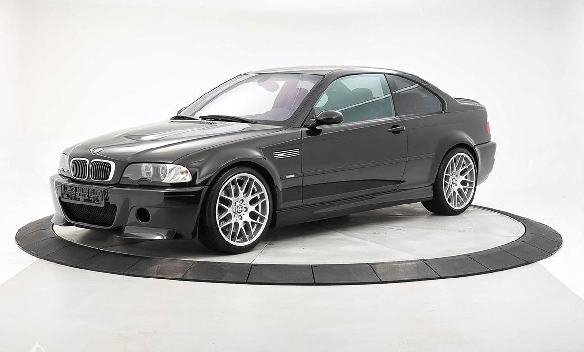 BMW M3 E46 CSL enchères