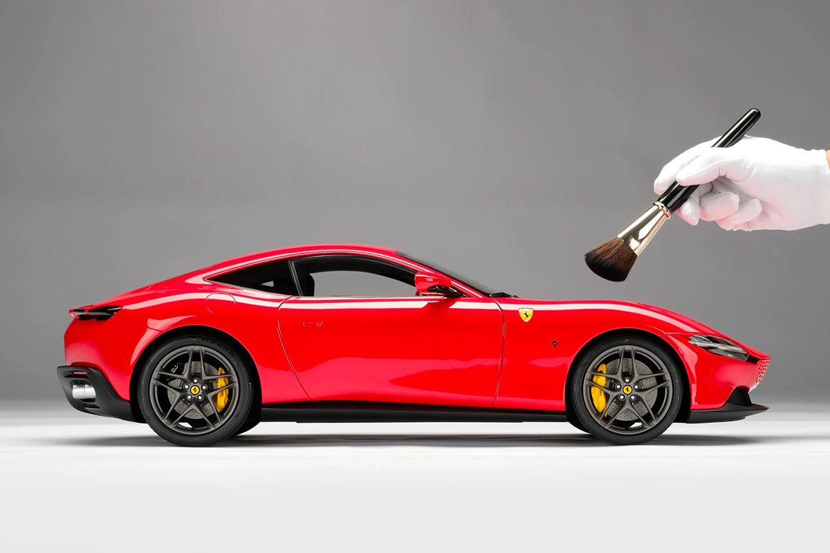 1/8 Ferrari Roma profil