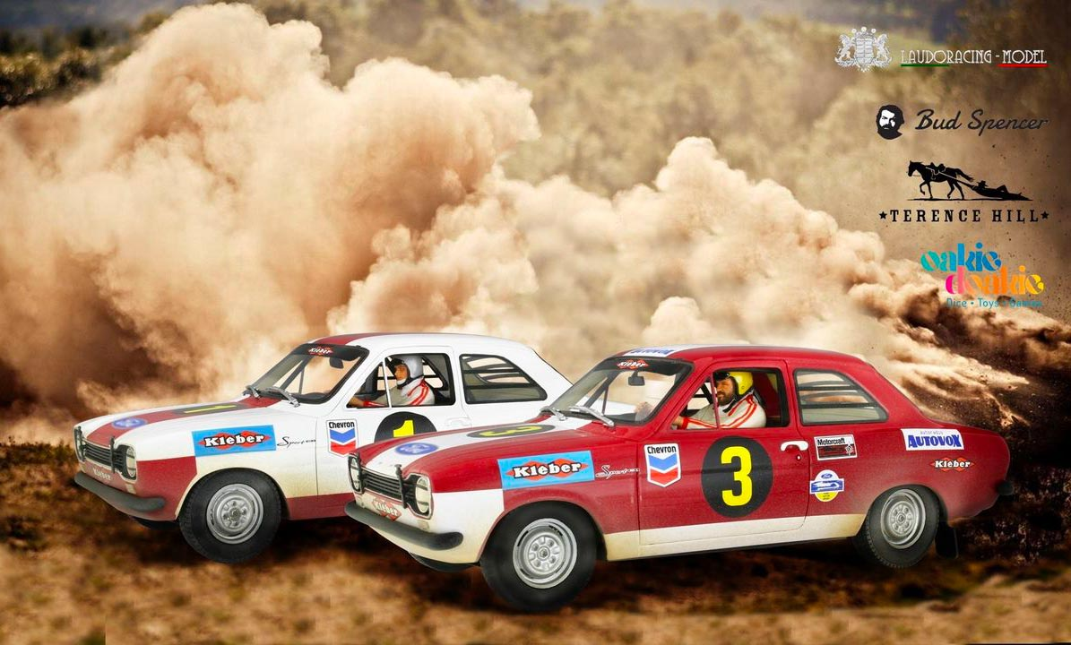 1/18 Ford Escort Rallye Laudoracing
