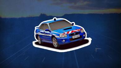 Inventaire Subaru Impreza Gendarmerie