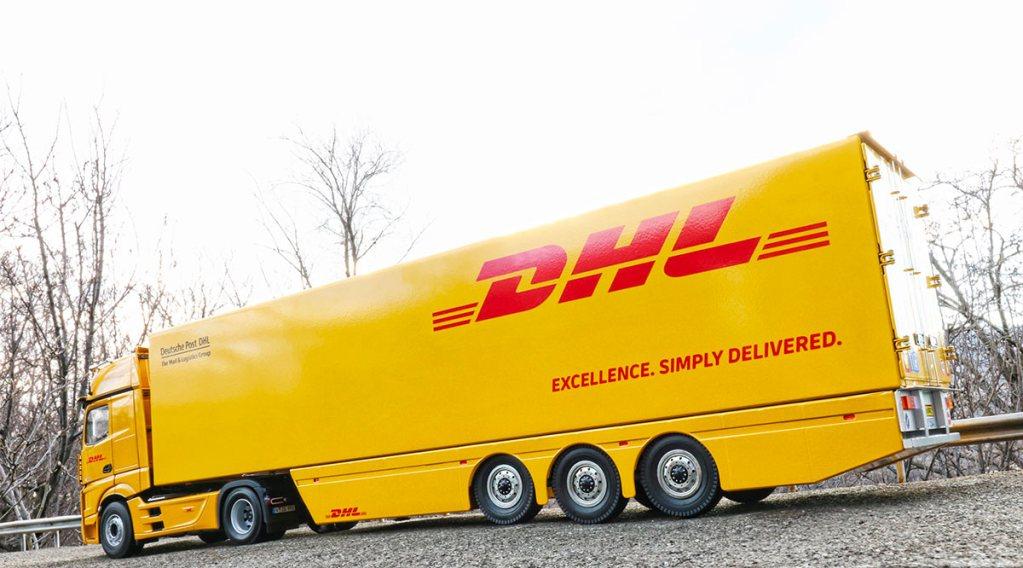 1/18 Semi-remorque DHL MNtrailers