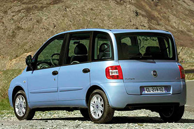 Fiat Multipla phase 2 fabriqué en Chine