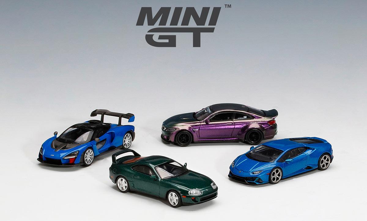 1/64 Mini GT nouveautés 2021