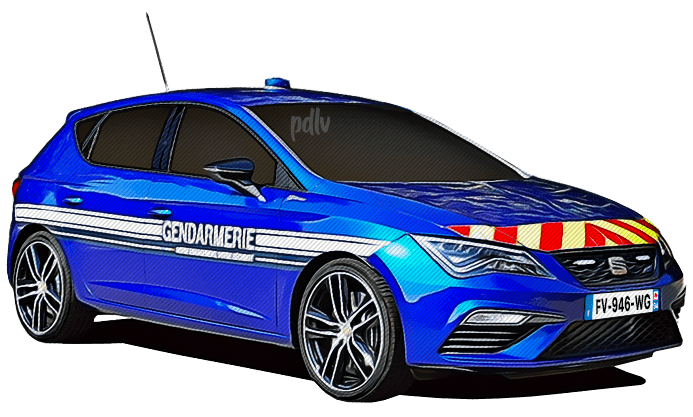 FV-946-WG Seat Leon Cupra gendarmerie