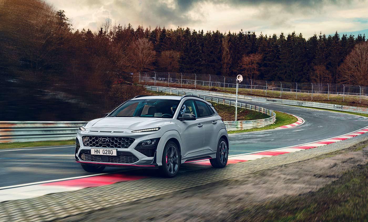 Nouveau Hyundai Kona N