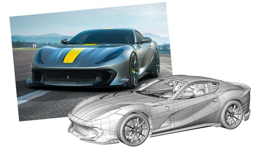 1/43 1/18 Ferrari 812 Competizione