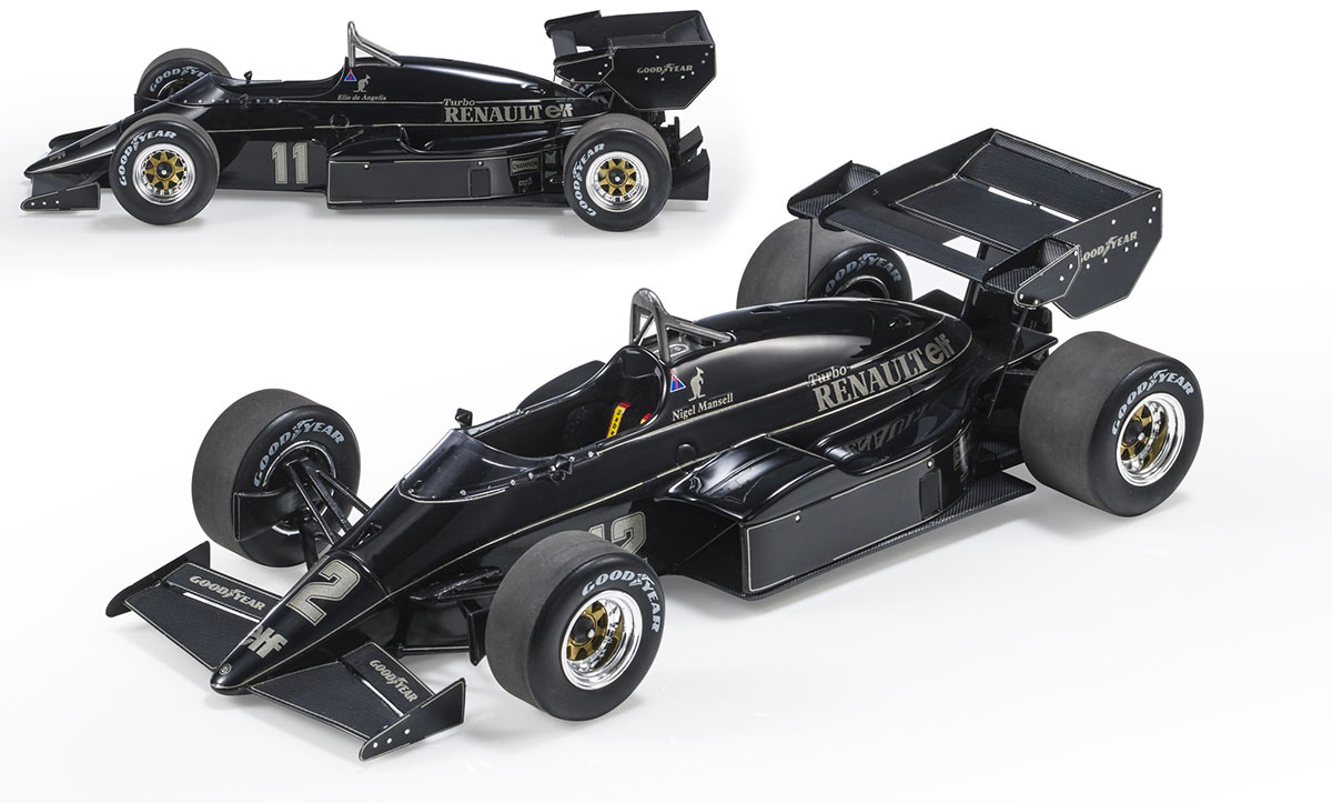 1/18 Lotus 95T Top Marques Collectibles