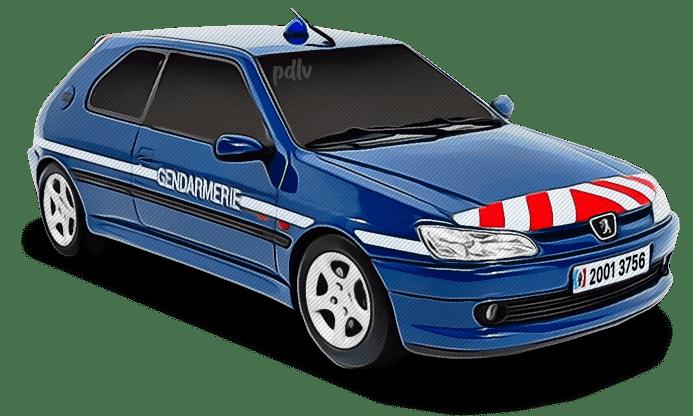 Peugeot 306 Gendarmerie 20013756