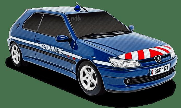 Peugeot 306 Gendarmerie 29811171
