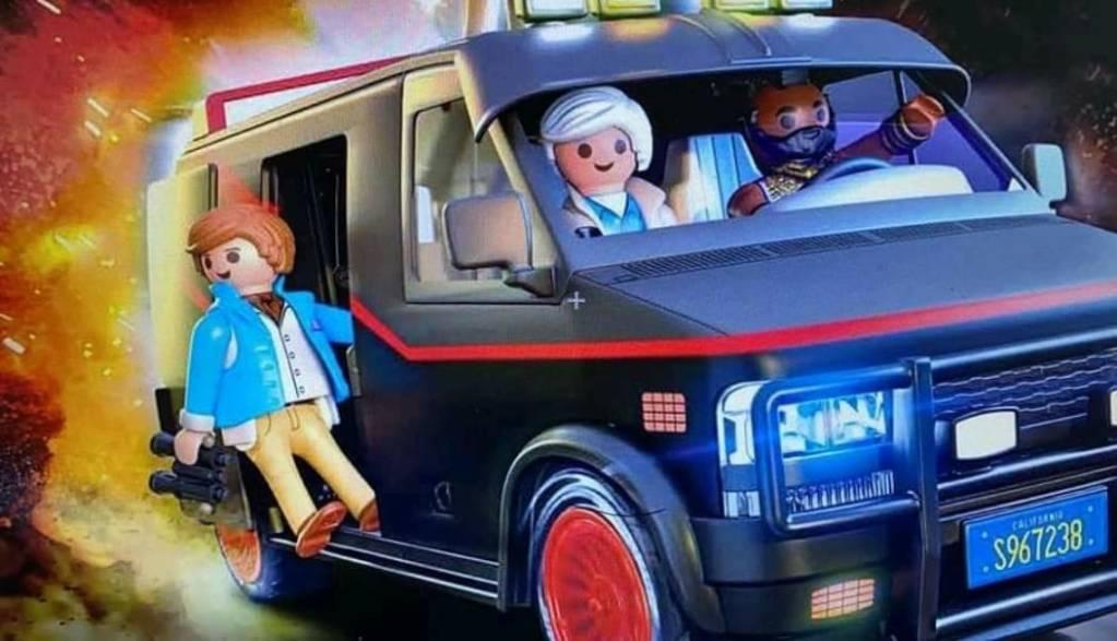 70750 Playmobil van Agence Tous Risques