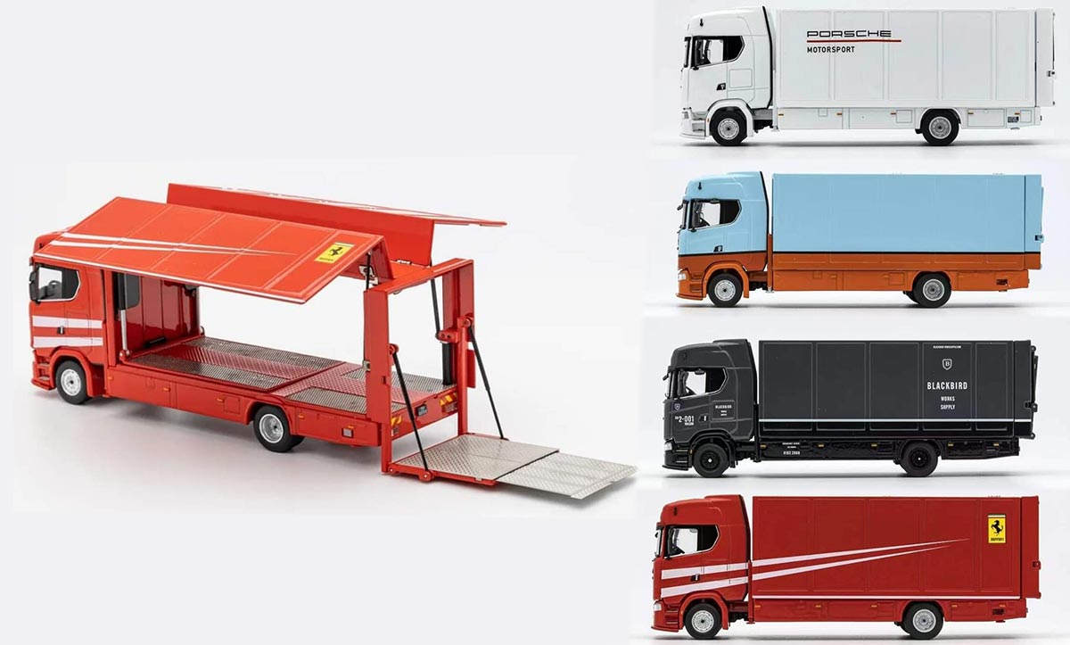 1/64 GCD Scania porteur
