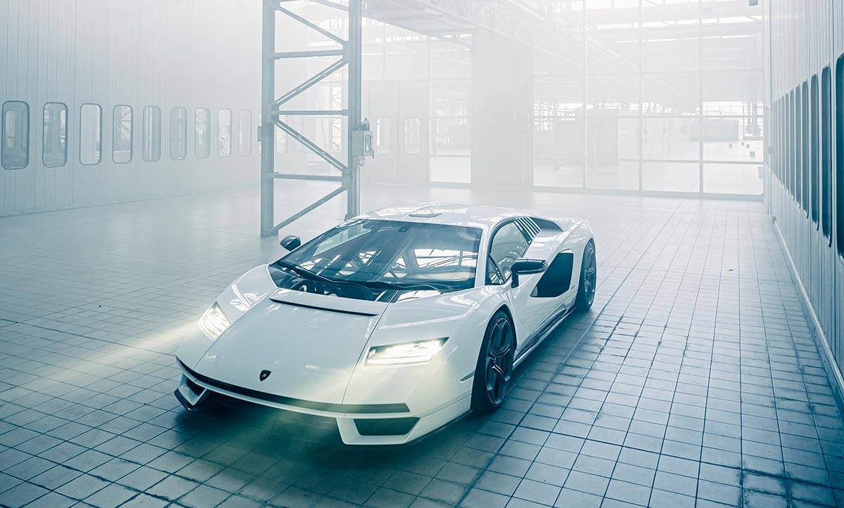 Nouvelle Lamborghini Countach