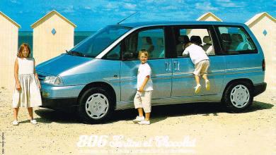 Peugeot 806 Tartine et Chocolat