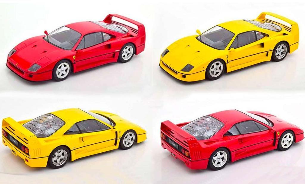 1/18 Ferrari F40 KK-Scale