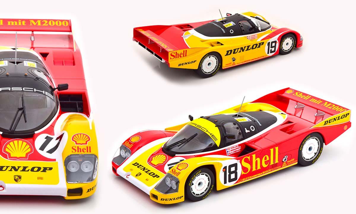 1/18 Porsche 962 C Norev