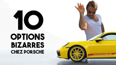 Options bizarres chez Porsche