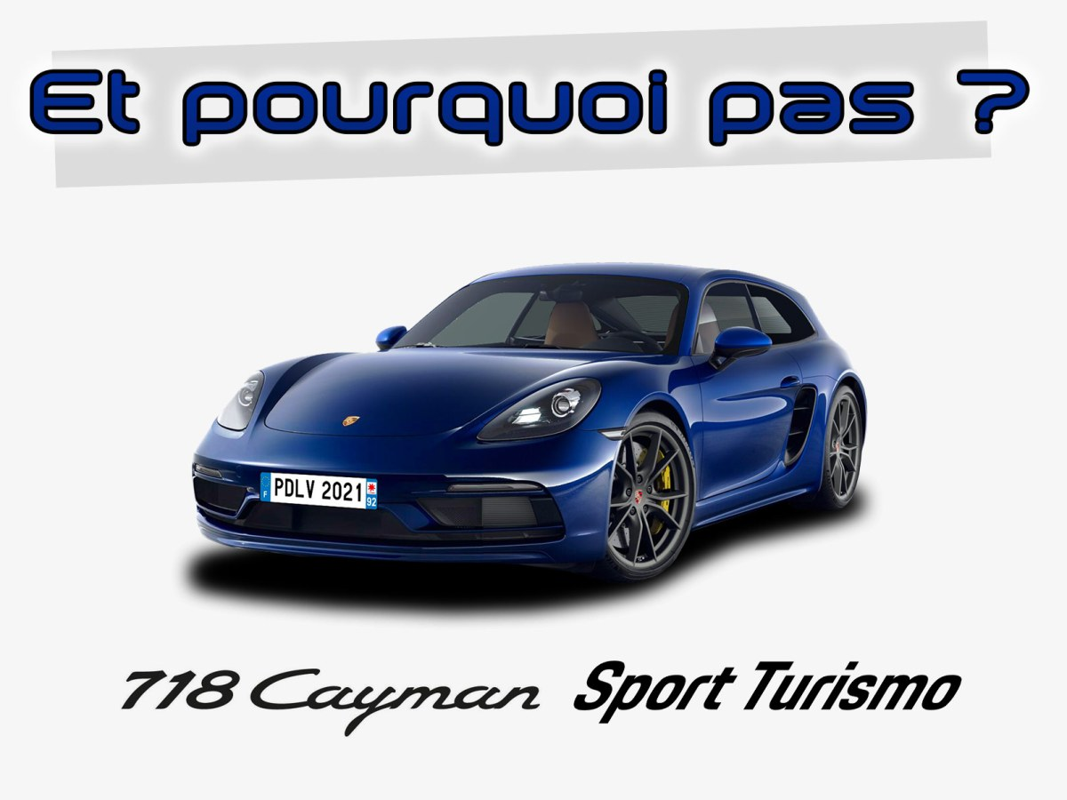 Porsche 718 Cayman Sport Turismo