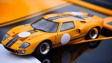 Benjamin Workshop Ford GT40 1/18
