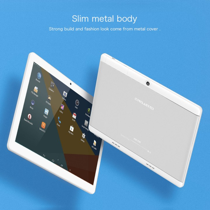 TECLAST X10   10.1 3G Tablet Android 6.0 1GB/16GB OTG 4900mAh   Silver price in Nigeria