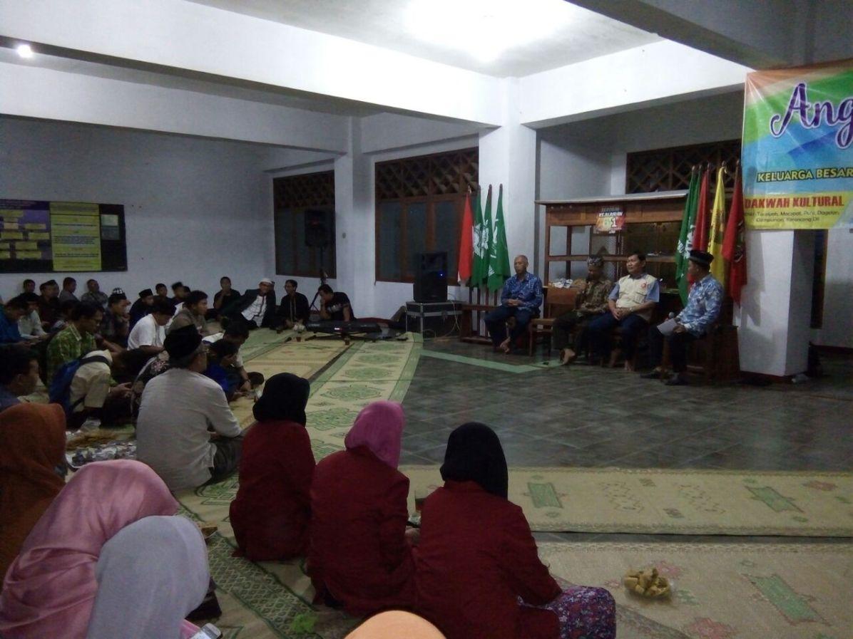Guyup Rukun di Agkringan Syair dan Syiar Dakwah yang digelar LSBO dan AMM Gunungkidul