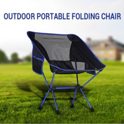 Heavy Duty Folding Chairs Outdoor How To Measure A Chair For Slipcover Lightweight Portable Camping Hiking Details About Fishing