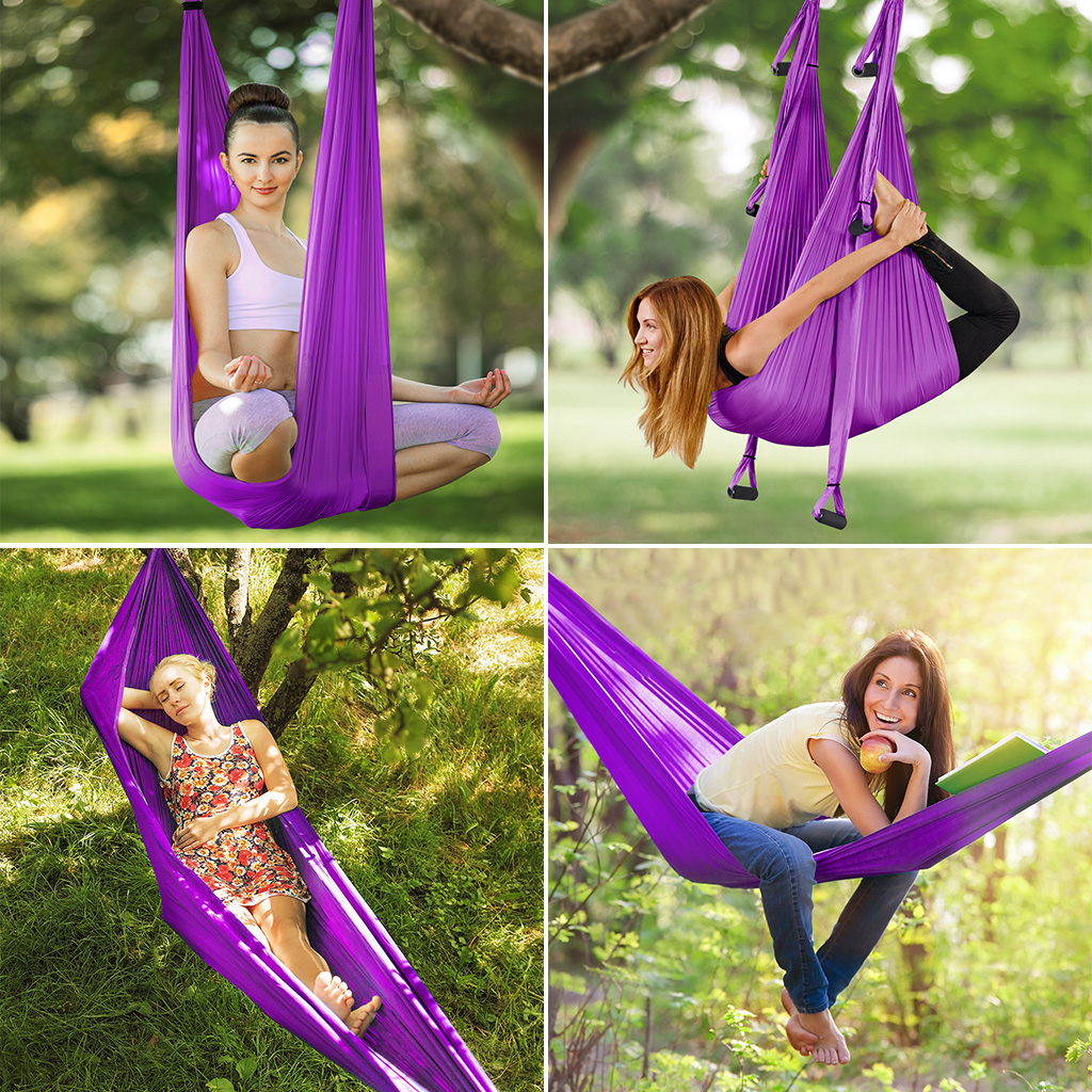 Aerial Yoga Swing Sling T Ze Hammock For Gym Yoga